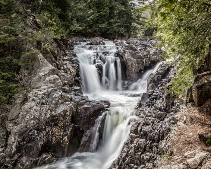 What many consider to be the best swimming hole you'll find up north, Split Rock Falls is an adventure you won't want to miss.
