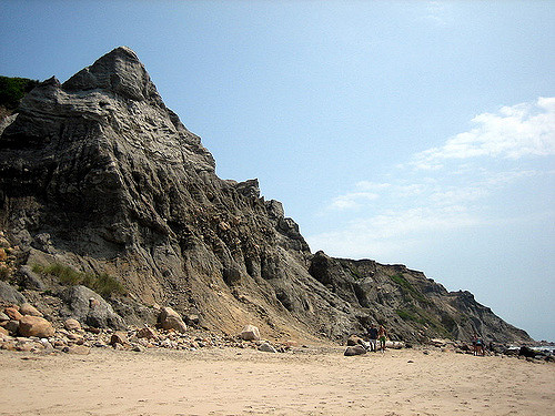 1. Mohegan Bluffs, Block Island