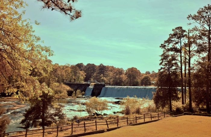 The history of these beautiful falls is quite a unique story, and one filled with rich Georgia history.