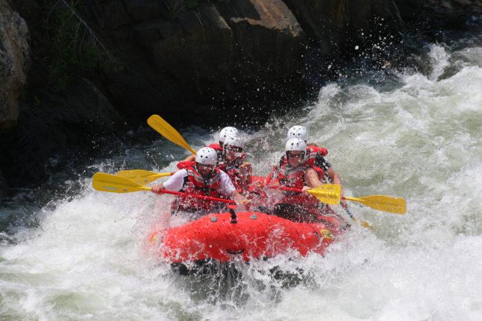14. Whitewater raft one of Idaho's epic wild rivers.