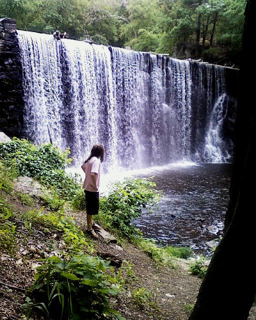 Puffers Pond is one of the most magical swimming spots in the state, and one of the few that features a beautiful waterfall.