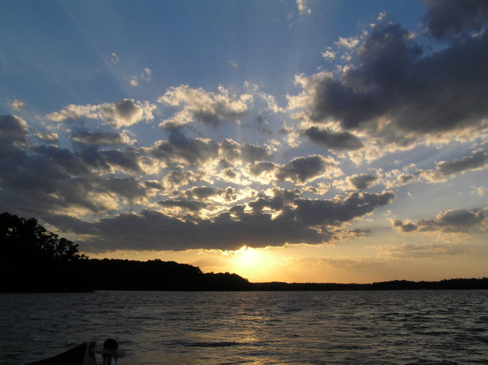13. Take a sunset dinner cruise.