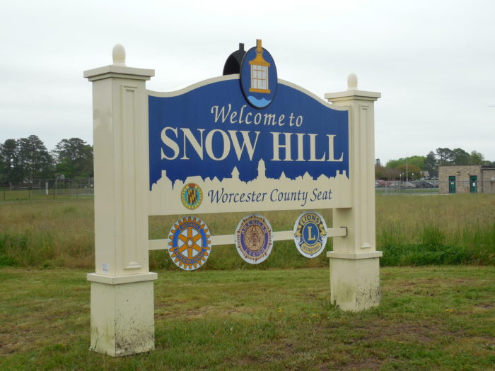 8. Snow Hill, Worcester County