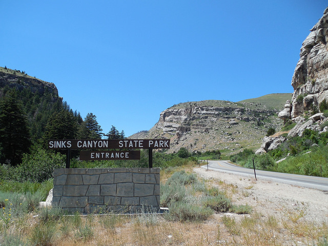 10. Sinks Canyon State Park