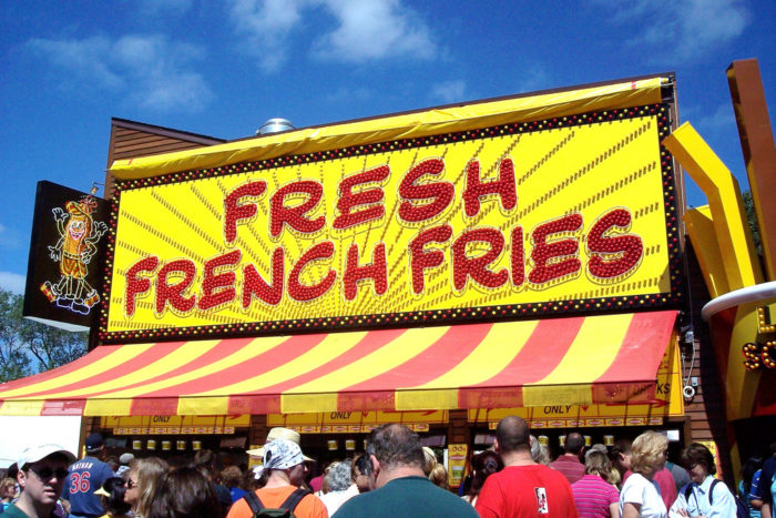 "1. THE FOOD! From the old to the new, all the state fair foods are so good it's impossible to pick a favorite.  Is ""I'll take one of everything"" an option?"