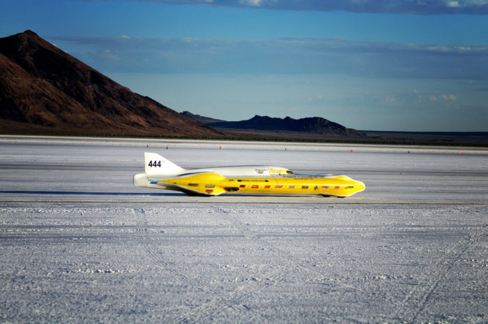 Watch the craziness of Speed Week at Bonneville Speedway, where vehicles break land speed records. The Speedway is near Wendover.