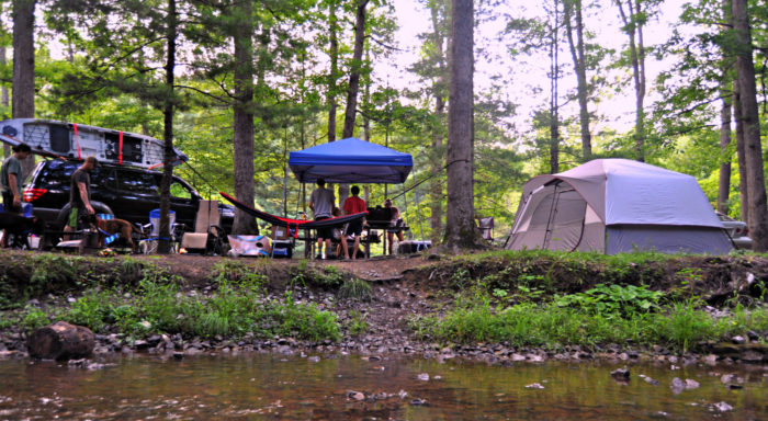 17. Enjoy a weekend of camping in one of our lovely state parks.