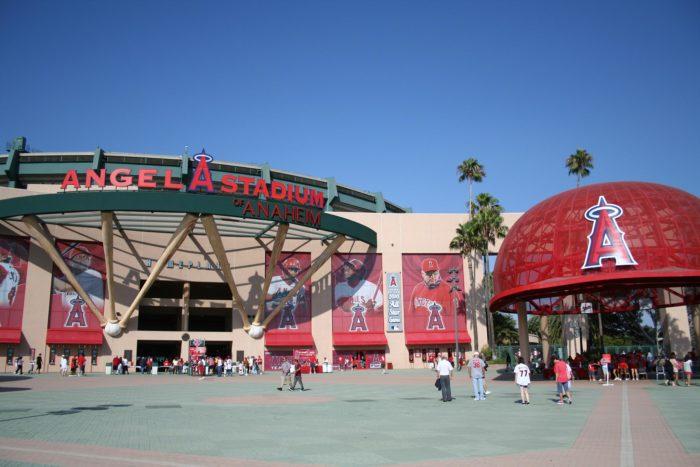 9. Angel Stadium Tour -- Anaheim