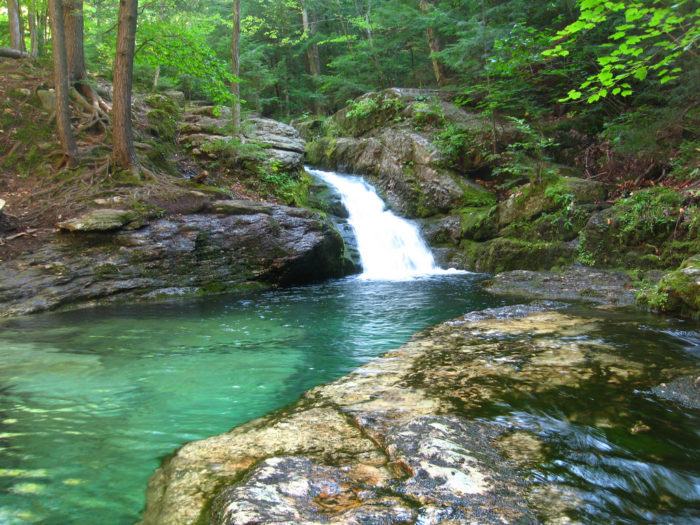 3. Cool off at Rattlesnake Flume and Pool, Evans Notch.