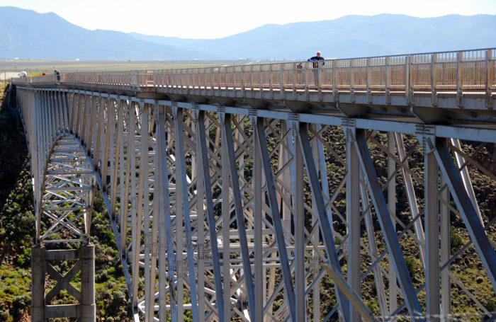 8. Rio Grande Gorge Bridge (near Taos)