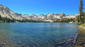 This Glacial Lake Has The Clearest, Most Pristine Water In Idaho