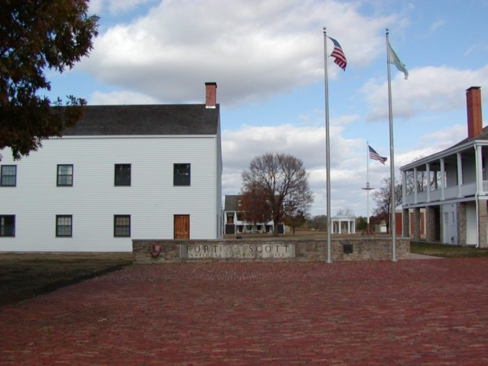 Established by the U.S. Army in 1842, Fort Scott was originally plotted with the intent to assist with the protection of the Permanent Indian Frontier.