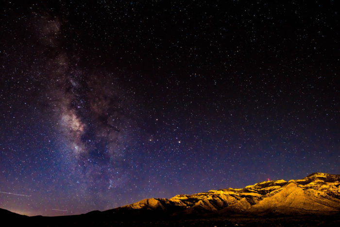 10. Slow down and look up at some of the darkest night skies you'll ever lay your eyes on.