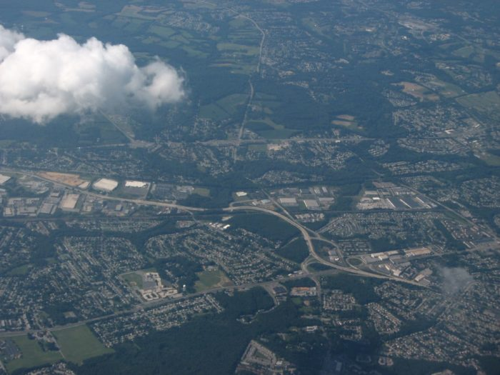 14. Another New Castle County Town is beautiful from the air!