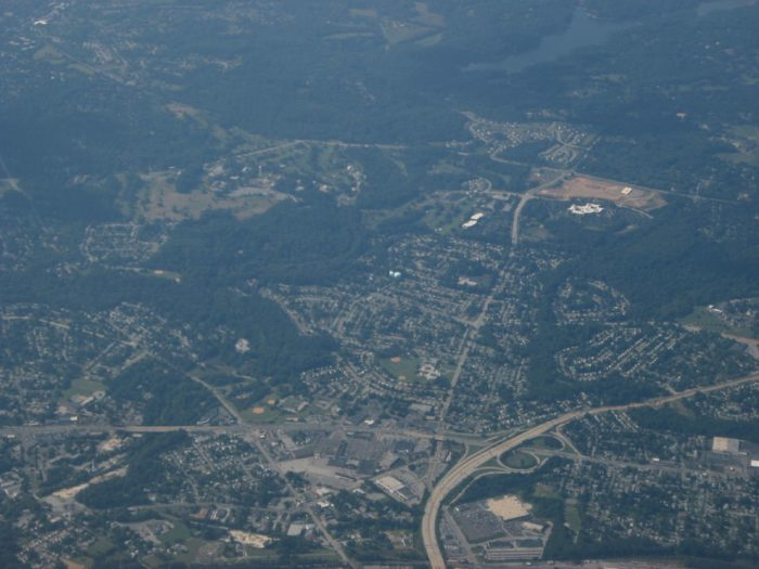 8. Here's a challenging one - and an amazing view of New Castle County.