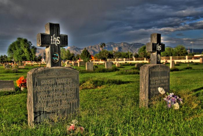 7. Holy Hope Cemetery, Tucson