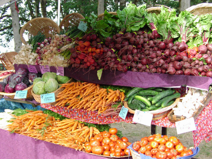 7.  Vermont has the best farmers markets.