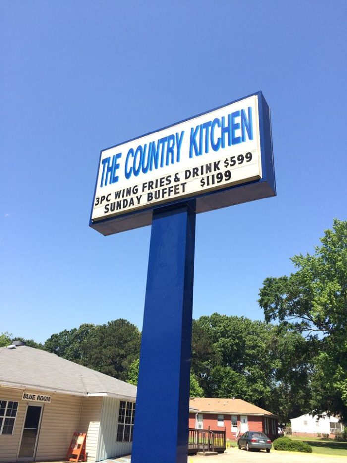 2. The Country Kitchen (219 W. County Line Rd., Tougaloo)