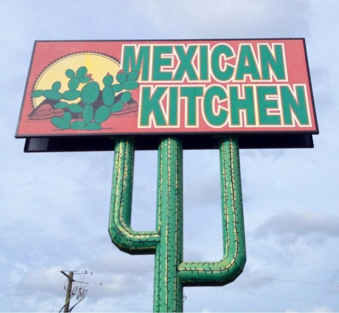 2. The Mexican Kitchen, Hattiesburg