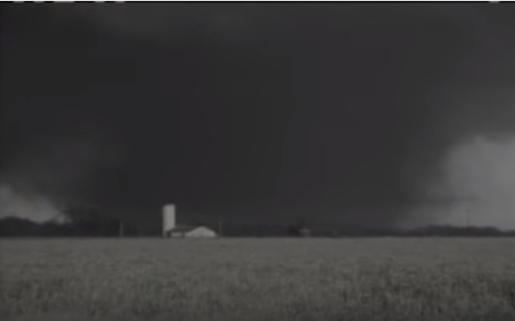 On April 5, 1936, an F5 tornado that was 3 city blocks wide with wind speeds up to 300 mph struck the town of Tupelo with no warning.