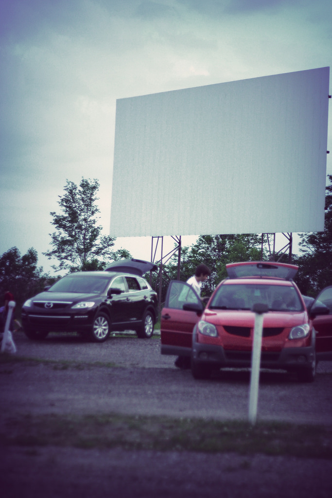 3. Take in a movie under the stars.