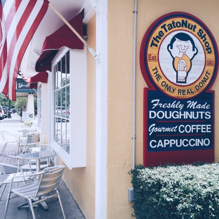 """Home of """"the only real donut,"""" the shop's popularity has grown over the years, attracting locals and tourists alike."""