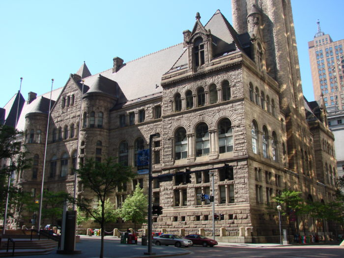 3. The Allegheny Courthouse & Jail
