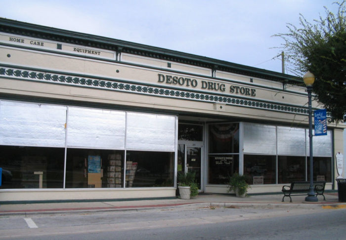 13. Your town had an old fashioned drug store.