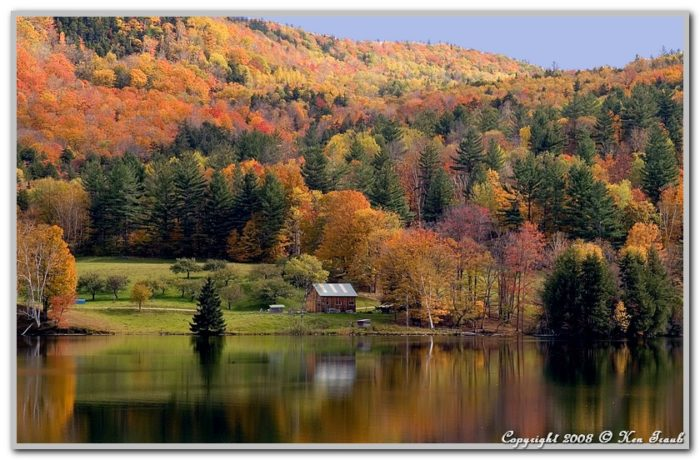 5.  Drive the scenic Route 100 during fall foliage.