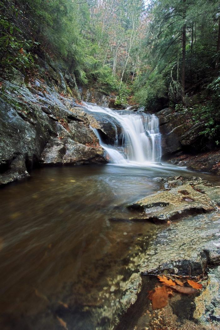 10. Take a swim at Duke Creek Falls.
