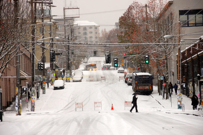 What's more, Washington temperatures will seem a little wacky this winter.