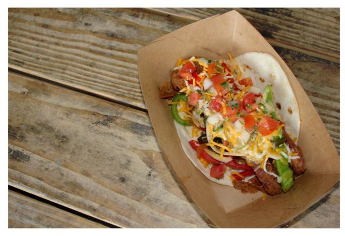 10. Ordered the Torchy's trifecta of tacos.