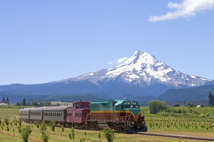 Mt Hood Tour Train