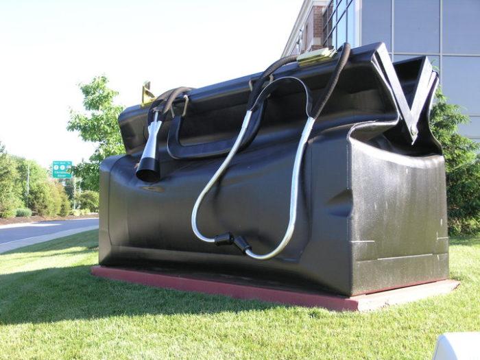 7. Apex Medical Center's Giant Doctor Bag