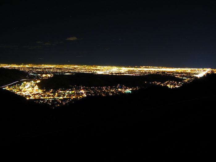 19. You've had many a late night adventure at Lookout Mountain.