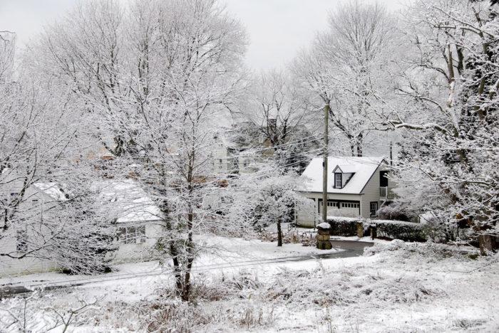 6. It's a real bonafide winter wonderland.