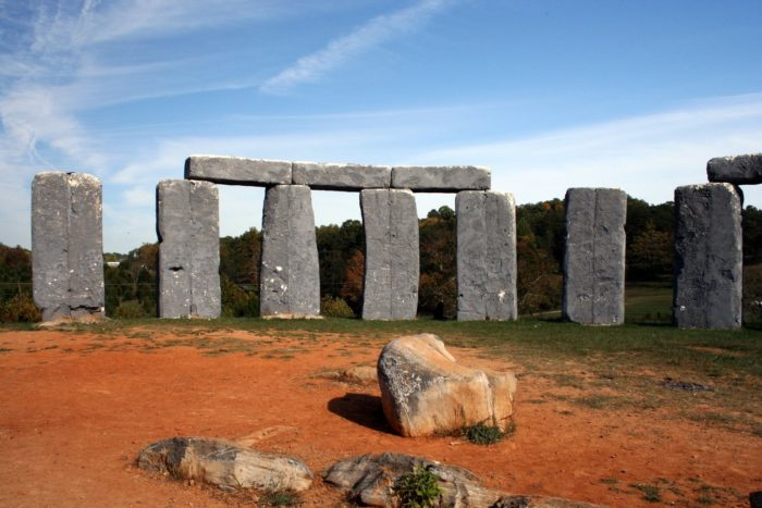 3. You've seen Foamhenge, the to-scale replica of Stonehenge