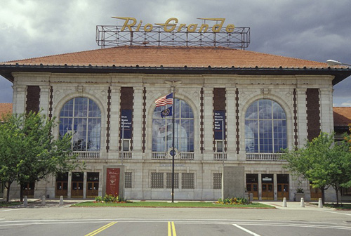 The Denver & Rio Grande Railroad Depot was built in 1910.  It's located at 300 S. Rio Grande St. (450 West) in Salt Lake City.