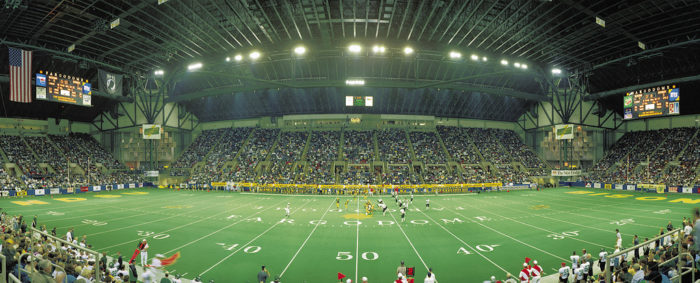 9. ...And a college football game in Fargo