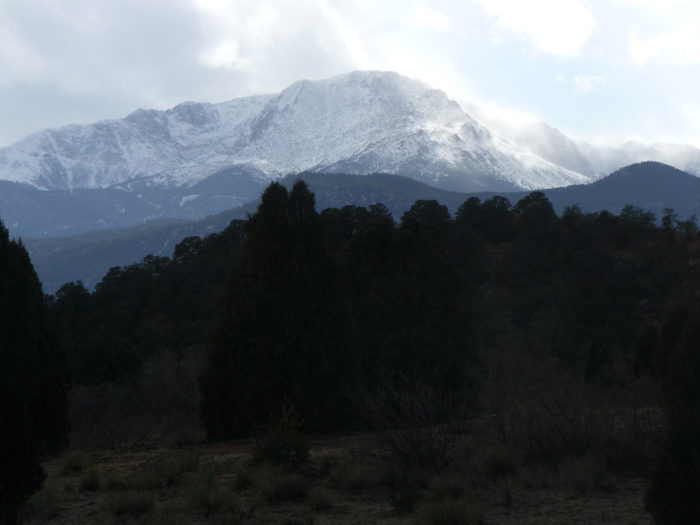 """Surprisingly, the famous Gold Rush slogan """"Pikes Peak or Bust"""" didn't even pertain to the famous mountain; the gold rich area was actually in Denver, but the term was coined because miners and travelers could still see the distinct peak from the area."""
