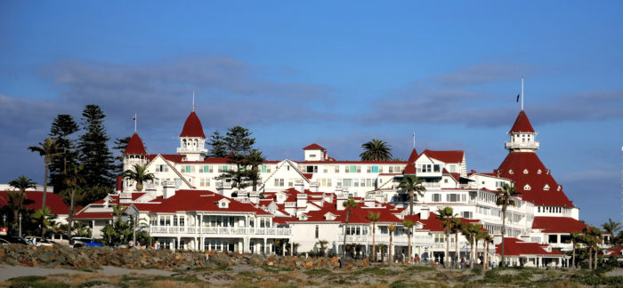3. The Hotel Del in Coronado is the epitome of grace and elegance in San Diego County. Take a quick trip across the bridge or hop on a ferry and experience this beauty for yourself.