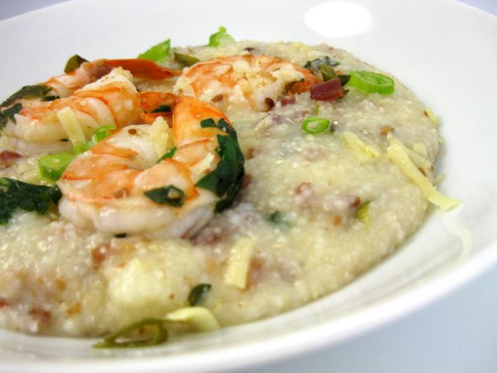 6. Knowing that shrimp and grits should be its own food group.