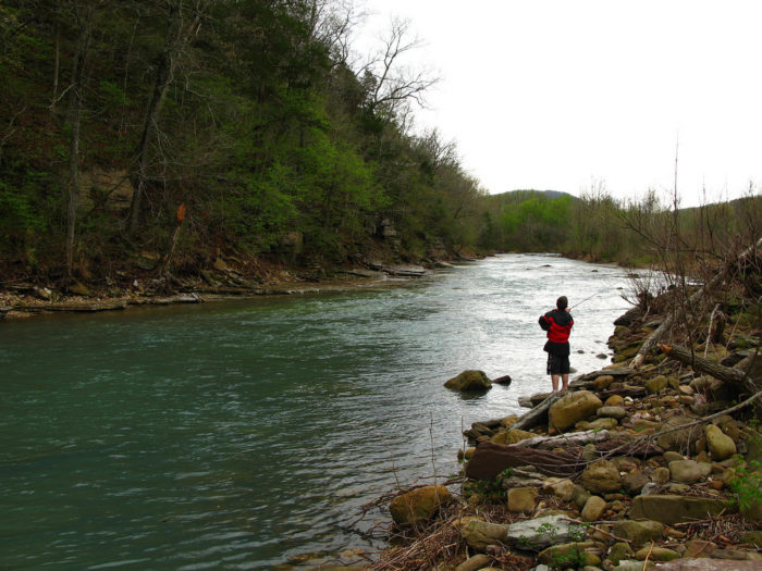 You'll find some great fishing spots there.
