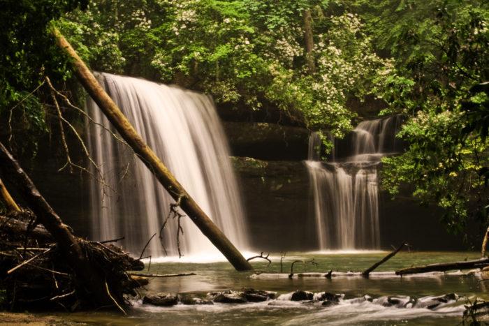 1. Caney Creek Falls Trail