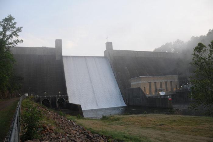 7. Narrows Dam (Lake Greeson)