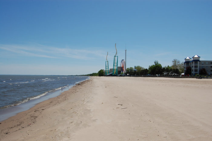 The crowd at this beach is relatively small, making it even more relaxing. To access the beach, you must have admission to Cedar Point Amusement Park or Soak City...