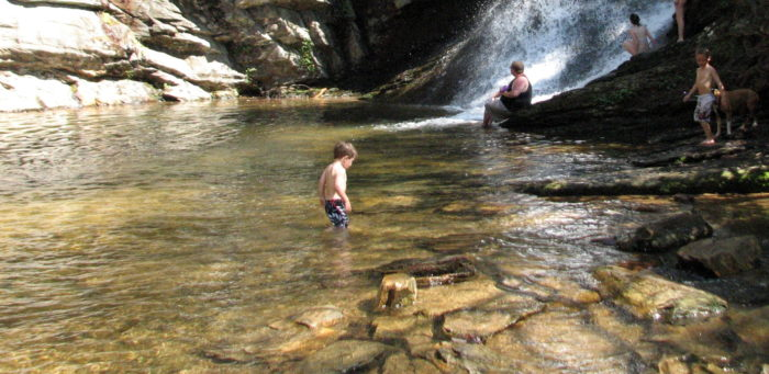 5. Hanging Rock State Park, Lower Cascade Falls