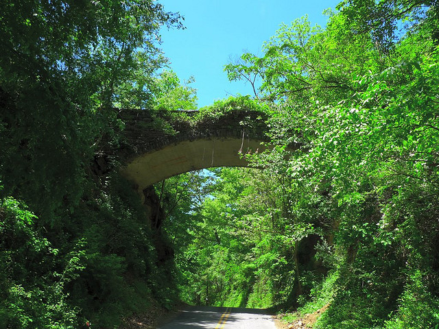 5. North Carolina - Helen's Bridge
