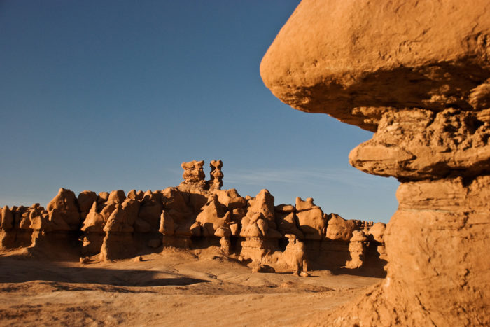 9. Wandering through Goblin Valley, you feel like maybe you left Utah...