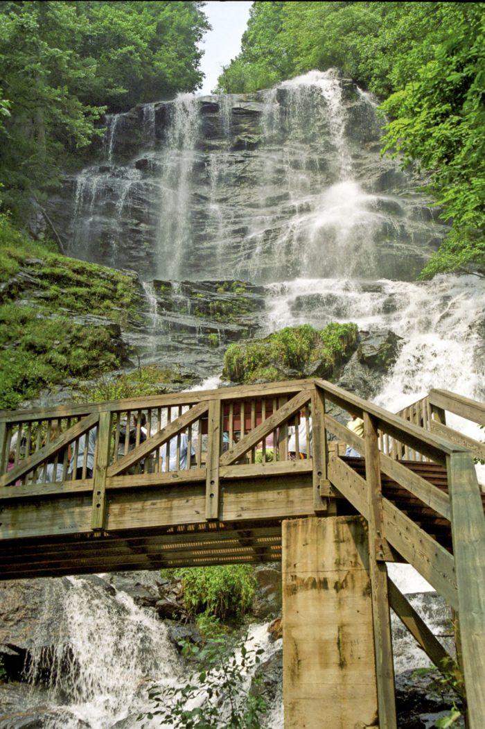 4. Amicalola Falls State Park—418 Amicalola Falls Lodge Road, Dawsonville, GA 30534